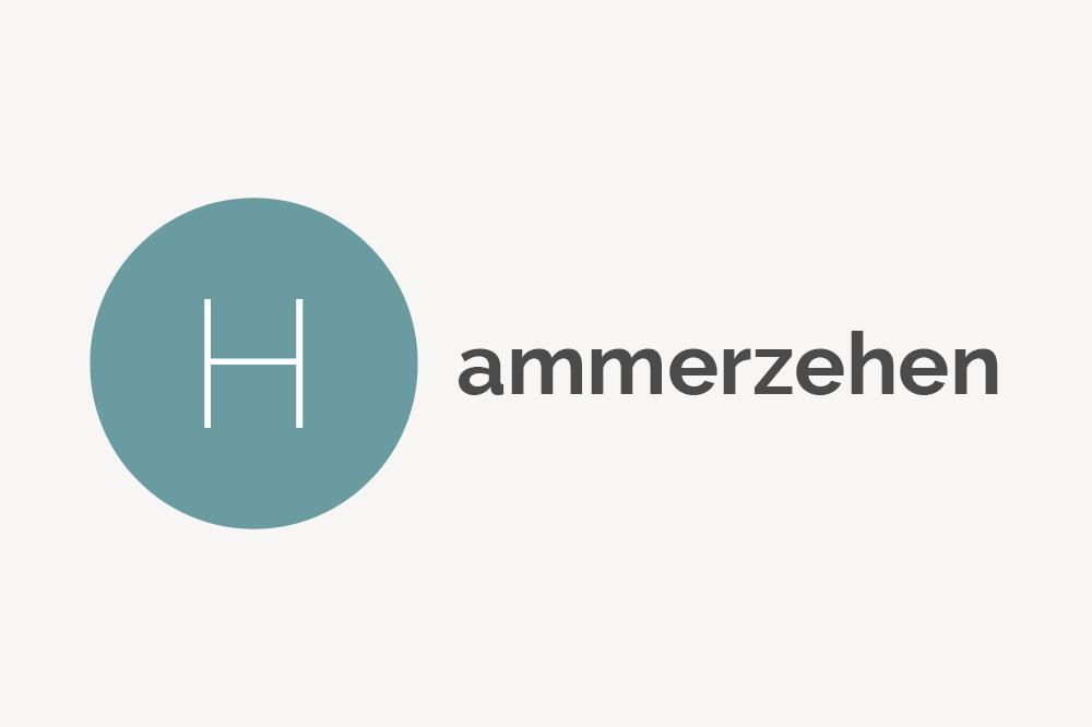 Hammerzehen