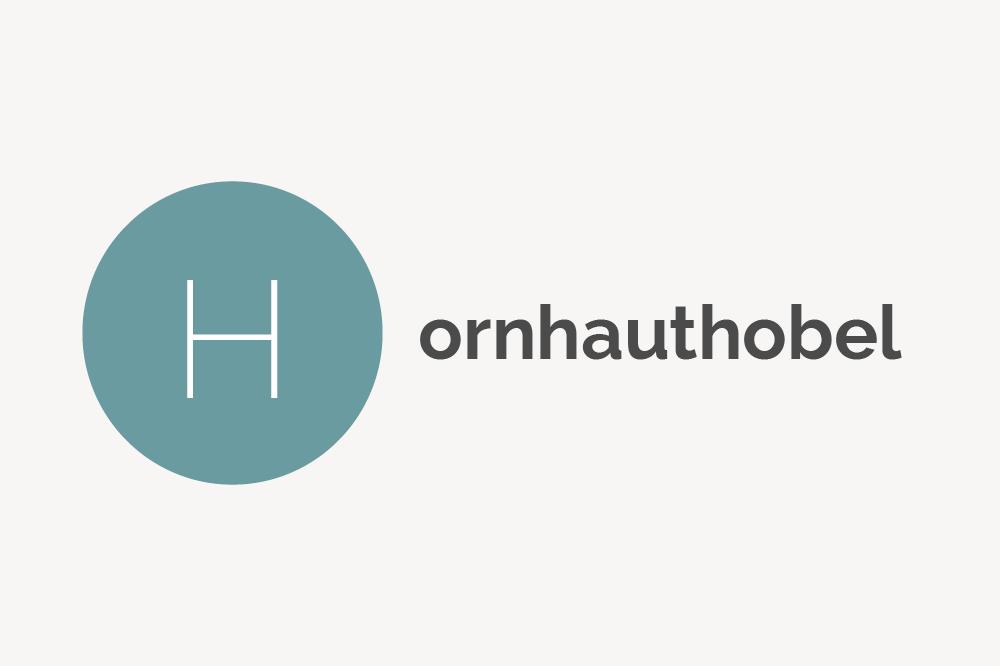 Hornhauthobel