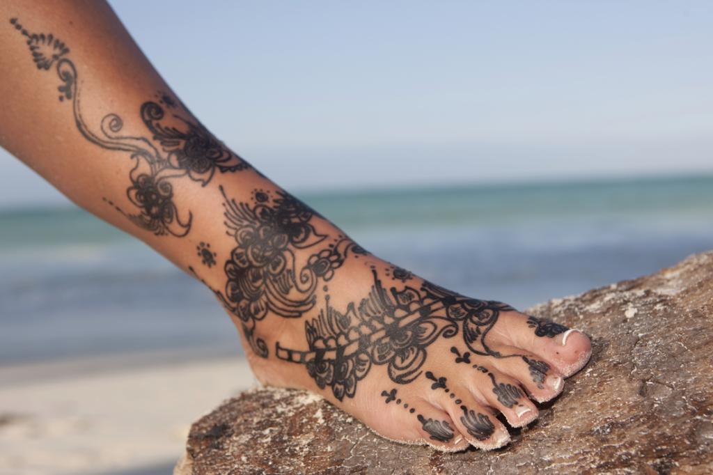 Fuß Tattoos Feetastic
