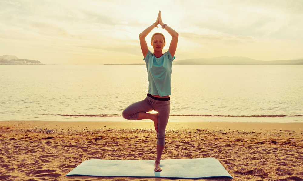 Yoga für die Füße